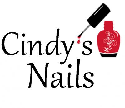cindys nails sign logo
