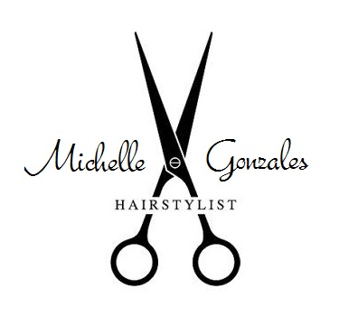 hair dresser logo made up for michelle gonzales